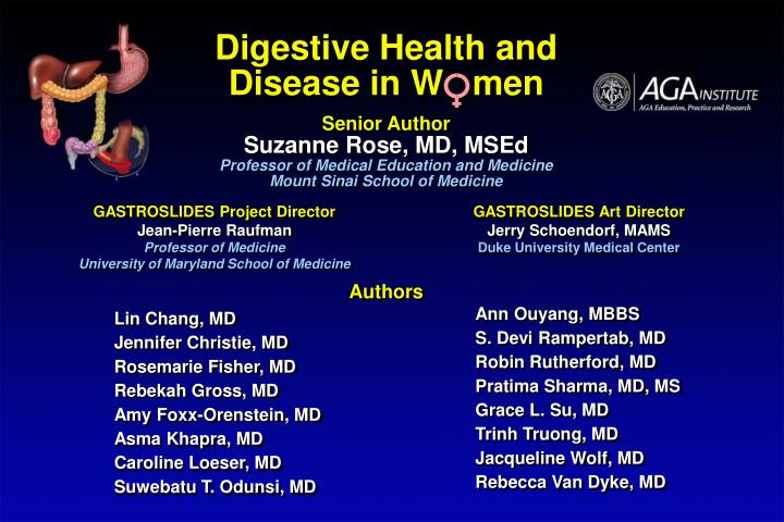 Digestive Health and Disease in W   men