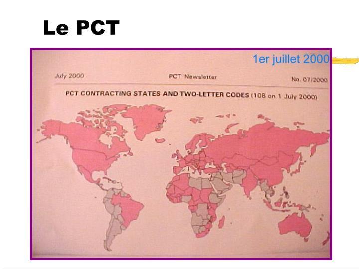 Le PCT