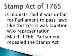 stamp act of 17651