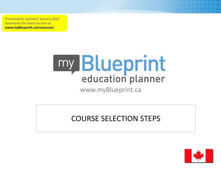 Presentation Updated: January 2012