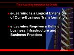 the e learning imperative for oracle