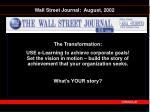 wall street journal august 2002