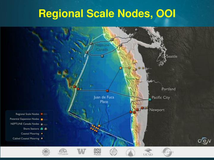 Regional Scale Nodes, OOI