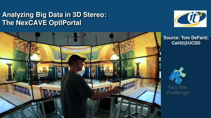Analyzing Big Data in 3D Stereo: