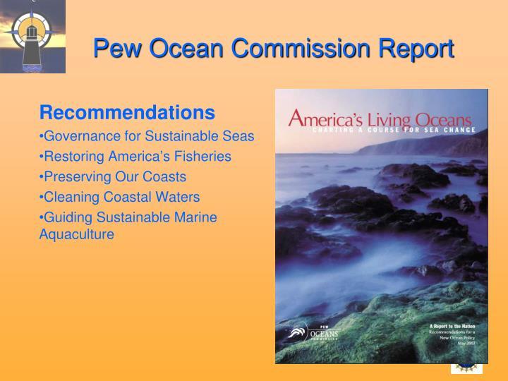 Pew Ocean Commission Report