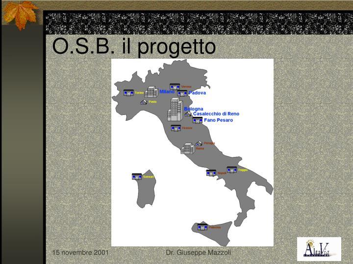 O.S.B. il progetto