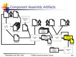 component assembly artifacts