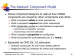 the abstract component model