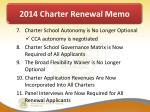 2014 charter renewal memo2