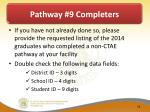 pathway 9 completers4