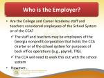 who is the employer