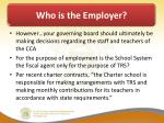 who is the employer1