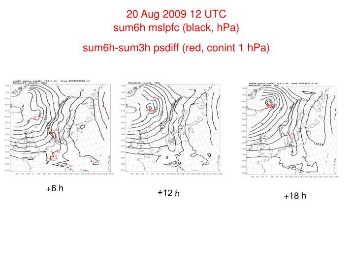 20 Aug 2009 12 UTC