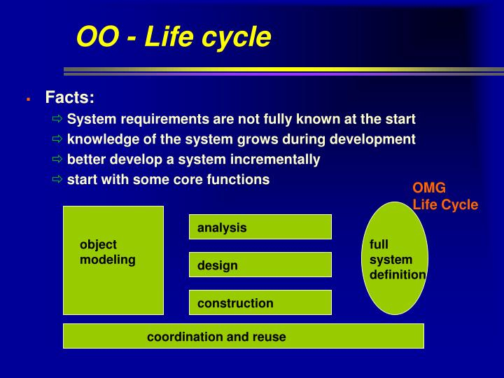 OO - Life cycle
