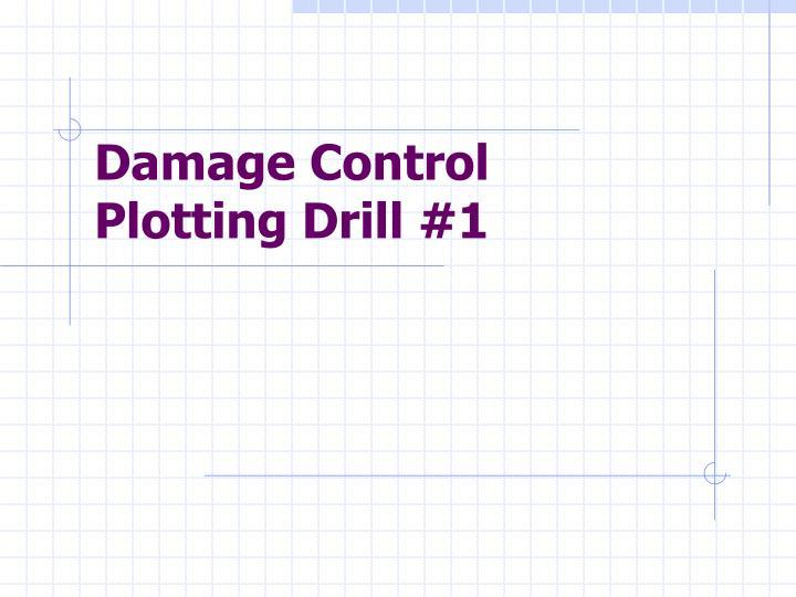 damage control plotting drill 1