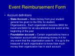event reimbursement form1