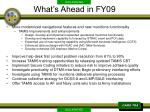 what s ahead in fy09