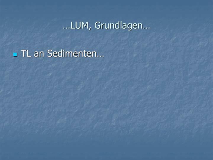 …LUM, Grundlagen…