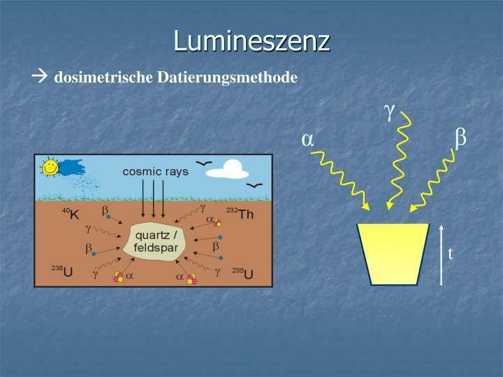 Lumineszenz