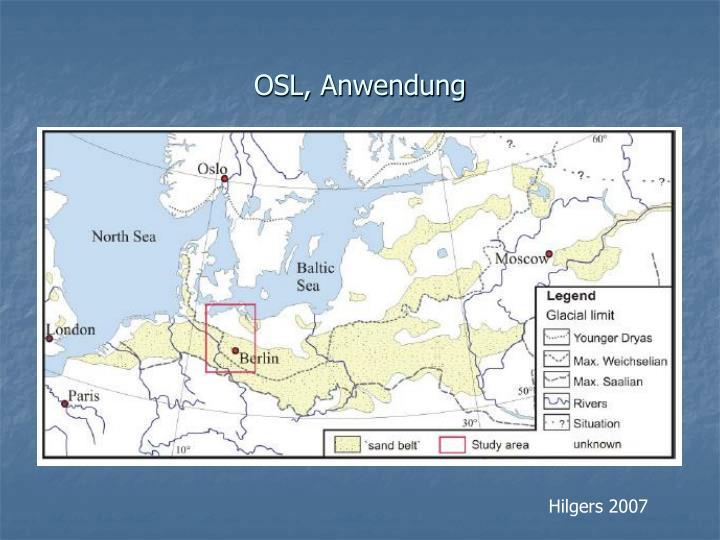 OSL, Anwendung
