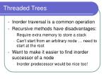 threaded trees