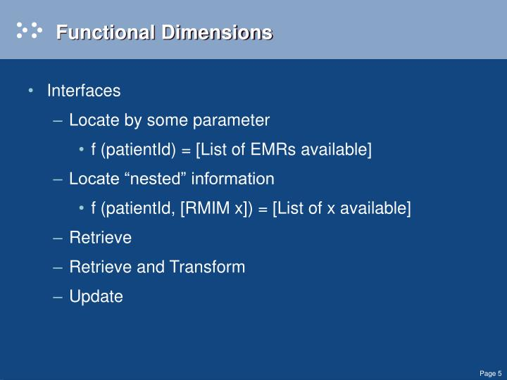 Functional Dimensions