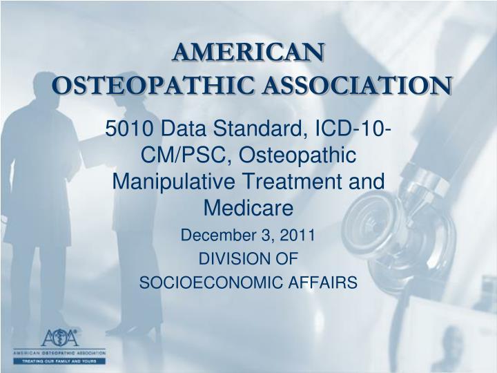 american osteopathic association n.