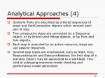 analytical approaches 4