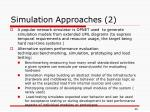 simulation approaches 2