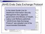 jahis endo data exchange protocol