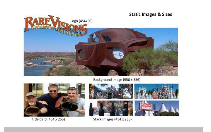 Static Images & Sizes