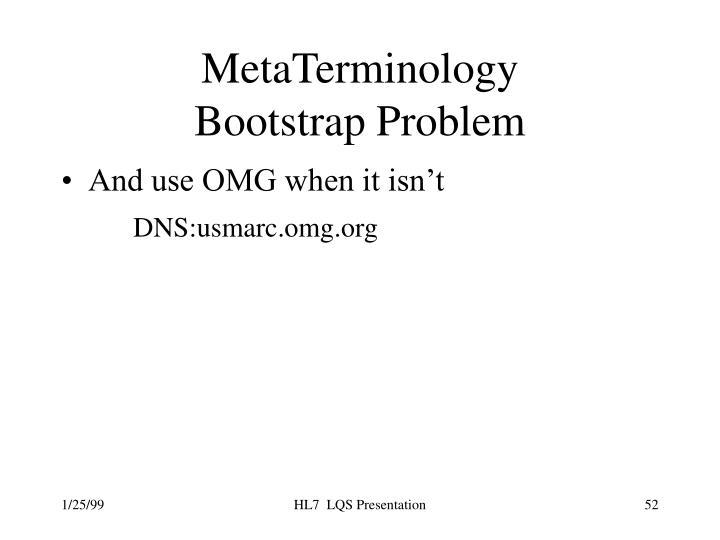 MetaTerminology