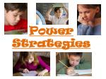 power strategies