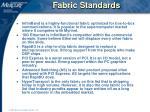 fabric standards