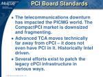 pci board standards