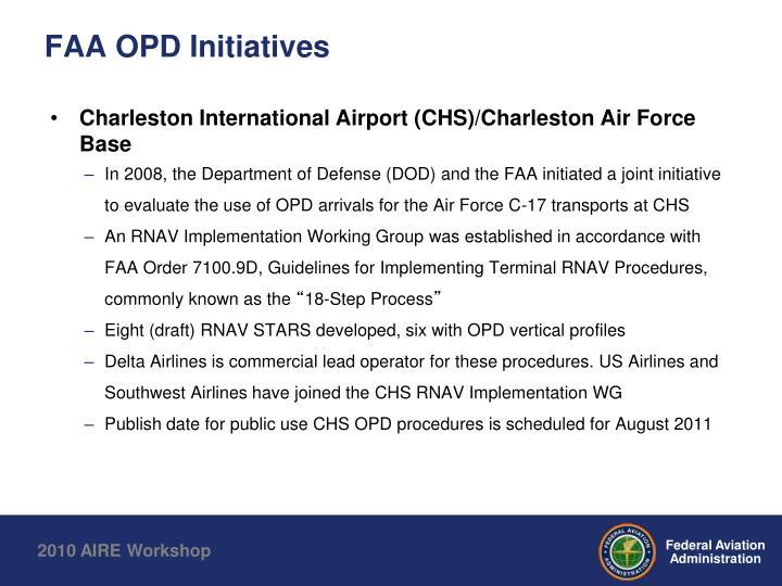 FAA OPD Initiatives