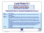 local rules 5 1