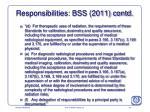 responsibilities bss 2011 contd2