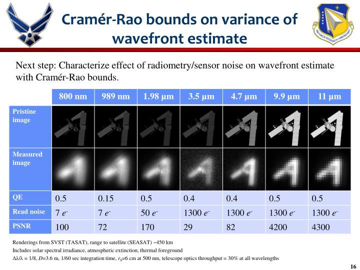 Cramér-Rao