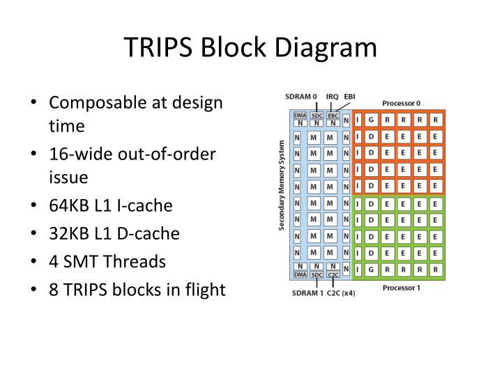 TRIPS Block Diagram