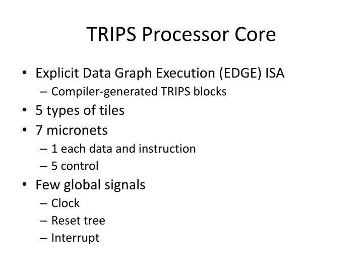 TRIPS Processor Core