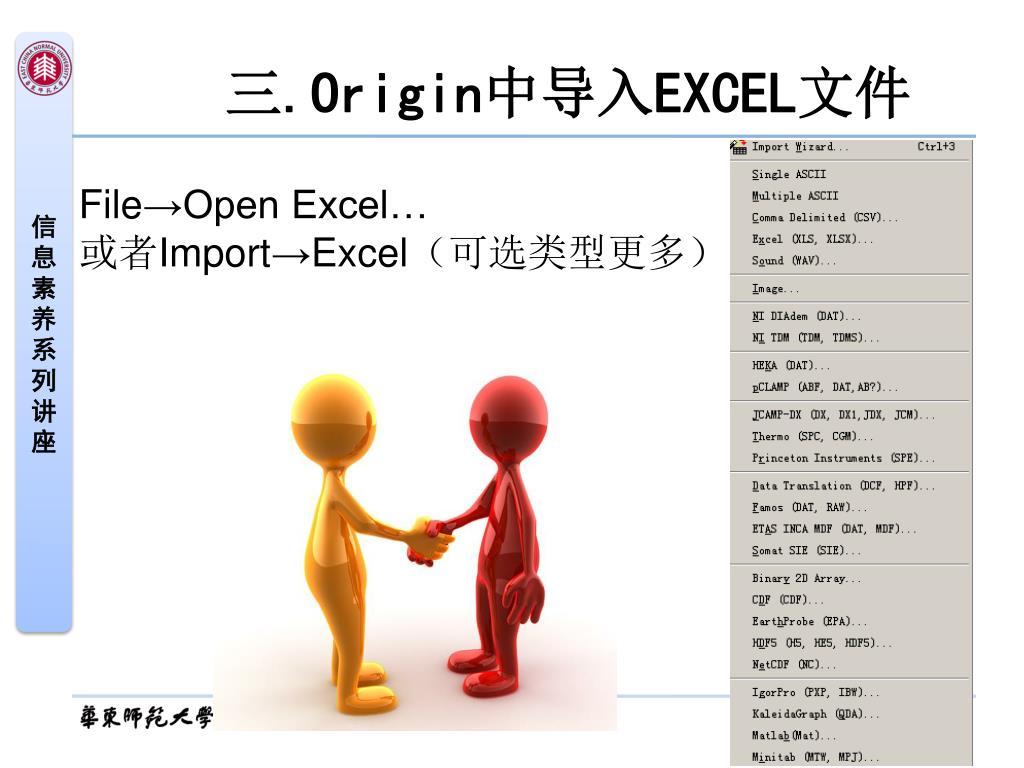 PPT - Excel 和Origin 软件绘图方法与技巧PowerPoint Presentation - ID