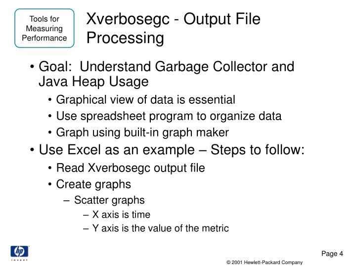 Xverbosegc - Output File