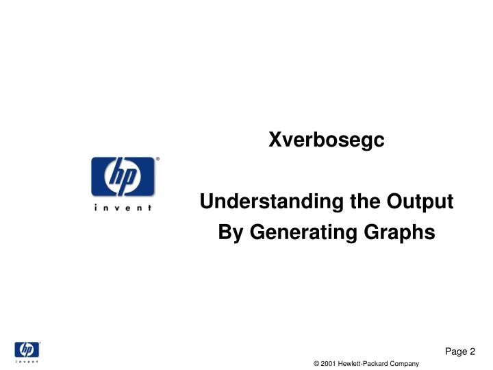 Xverbosegc understanding the output by generating graphs