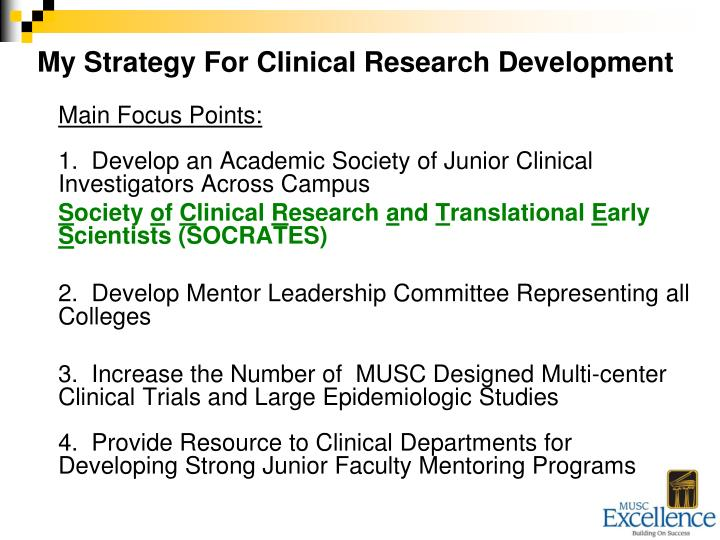 My Strategy For Clinical Research Development