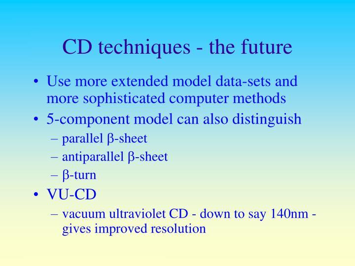 CD techniques - the future