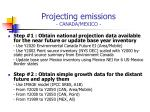 projecting emissions canada mexico