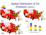 spatial distribution of us emissions nmvoc
