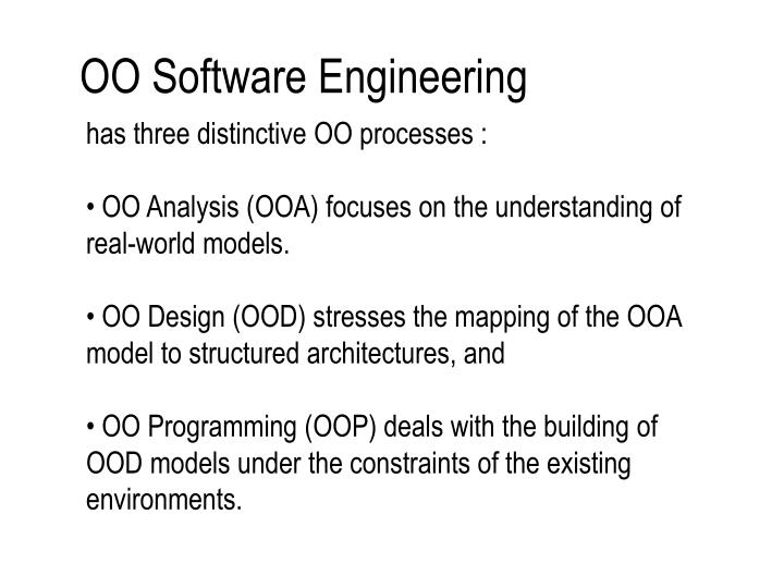 OO Software Engineering
