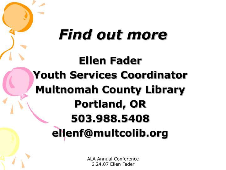 Ellen Fader